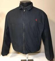 VTG Polo Ralph Lauren Puffer Jacket Down Coat Black Insulated RLX Chaps ... - $59.99