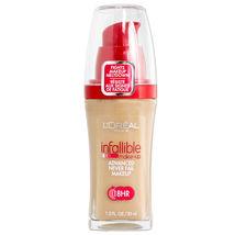 L'oreal Infallible Advanced Never Fail Makeup - 605 Nude Beige - $10.95