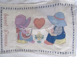 Sunbonnet Sue Pillowcase Fabric Panel includes Front and Back Joan Kessler - $385,36 MXN