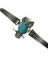 Turquoise Bracelet - Owl - Bohemia Fashion Retro Style Variety [BRA-42] - $19.59 CAD