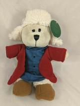 "Starbucks Bear Plush 10"" 2016 Denim Knit Sweater Stuffed Animal toy - $5.95"