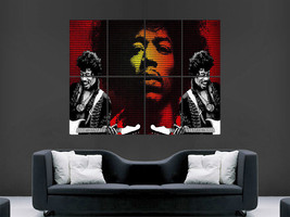 JIMI HENDRIX POSTER MUSIC ART LEGEND GIANT WALL POSTER PICTURE PRINT LARGE  - $22.07