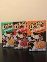 3x Cheetos Mac 'n Cheese (Flamin Hot, Cheesy Jalapeño And Bold And Cheesy) - $24.70
