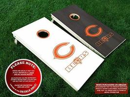 Chicago Bears Cornhole Decals | COLOR CHOICE | Six (6) Vinyl Decals for ... - $33.99