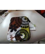 Vera Bradley neoprene Tablet sleeve in Cocoa Moss  - $11.50