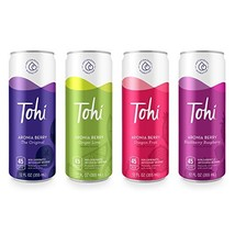 Tohi Drink Variety Pack, Aronia Berry Antioxidant Beverages - 30% Aronia Berry J
