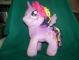 My Little Pony Purple Pink Unicorn Plush toy Twilight Sparkle 2014 Hasbro - $7.50