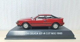 1/64 Konami 1985 TOYOTA CELICA GT-R ST165 RED diecast car model  - $26.45
