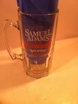 SAMUEL ADAMS BEER STEIN / MUG--OCTOBERFEST--RAISE THE STEIN--SHIPS FREE-... - $26.04