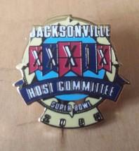 "Jacksonville Superbowl XXXIX 2005 Host Committee Lapel Pin 3/4"" x 3/4"" - $12.86"