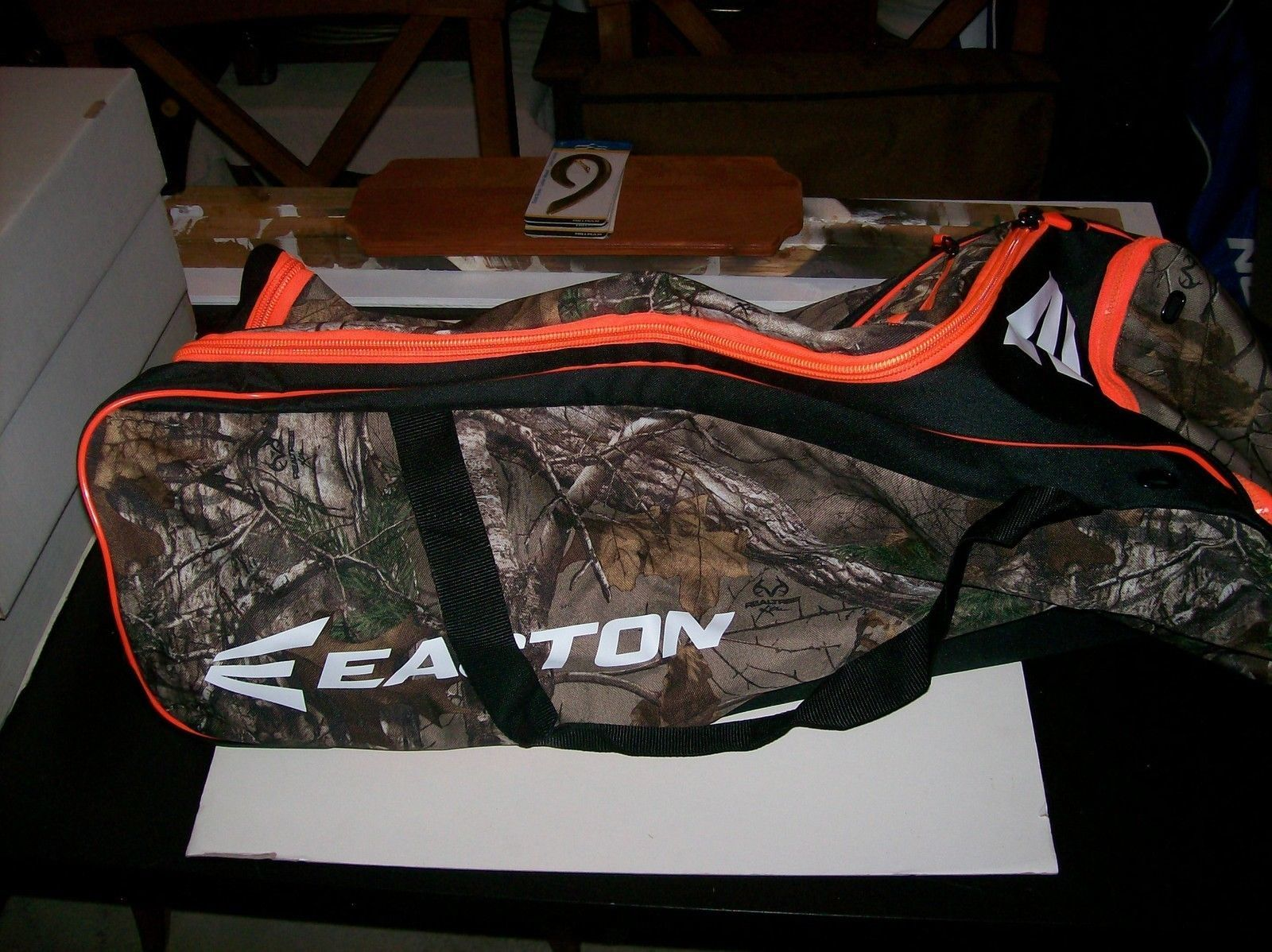 Wheeled Bat Bag  Easton 510W Camo 36