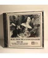 VINTAGE SEALED UNOPENED MUSIC CD MUSIC FROM SPANISH KINGDOMS CIRCA 1500 ... - $29.65