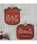 12 Days: Hens Birds cross stitch chart Hands On... - $9.00