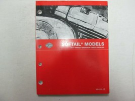 2010 Harley Davidson Softail Models Motorcycles Parts Catalog Manual - $108.85
