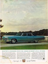 Vintage 1967 Magazine Ad Cadillac Beautiful Surprise For Americas Loyal Owners - $5.93