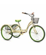 """26"""" Women's Margaritaville Cruiser Tricycle Comfy Fit Frame Comfort Ride, Cream - $538.95"""