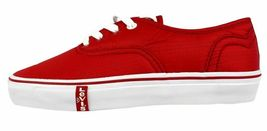 Levi's Women's Classic Premium Atheltic Sneakers Shoes Rylee 524342-01R Red image 9