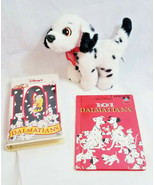 101 dalmatians dipstick toy dog with moving tail action + VHS + BOOK bundle - $0.98