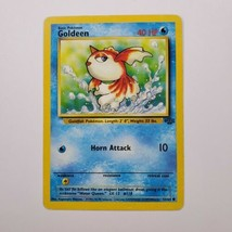 Pokemon Jungle Goldeen MP 53/64 TCG Trading Card Game 1999 Unlimited - $0.99