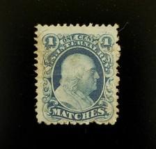 "U.S.A. Internal Revenue 1c RO132b ""Matches"" Philadelphia, PA Match Stamp - $8.49"