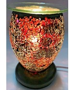 Electric Fragrance Lamp/ Oil Burner/Wax Warmer/Night Light With Dimmer S... - $19.79