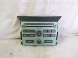 09-11 Honda Pilot Radio 6 Cd Face Plate 39100-SZA-A210 1BV0 XYZ69 - $20.79