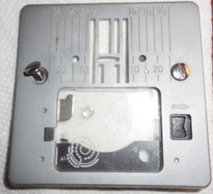 Singer Heavy Duty 4411 Needle Plate w/Plastic Window Used Working Parts - $22.50