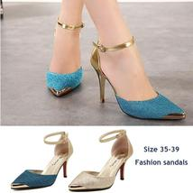 Red High Heels bottom mujeres bombea brillo zapatos de tac¨®n alto mujer Party S