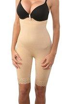 Zonars Women's Shapewear Butt Lifter Waist Cincher Magic Short S/M, Long Skin