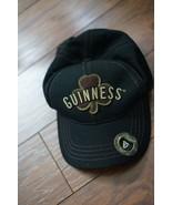 Guinness Baseball Hat Cap With Metal Bottle Cap Opener - Black w/ Brown ... - $15.00