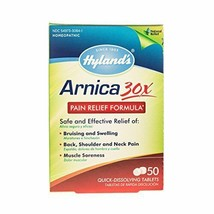 Arnica Montana 30x Tablets by Hyland's, Natural Relief of Bruises, Swelling - $5.65