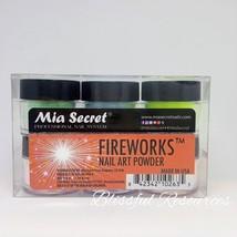 Mia Secret FIREWORKS 6 pcs Nail Art Powder @0.5oz each - $16.83
