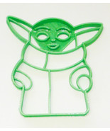 Baby Yoda Adorable Green Space Child Star Wars Cookie Cutter USA PR3321 - $2.99
