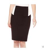 Liz Claiborne Colorblock Ponte Knit Pencil Skirt Size 2X New Msrp - $19.98