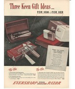 1947 Vintage Ad Eversharp Schick Injector Razor - $8.99