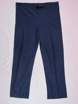 CHEROKEE WORKWEAR UNIFORMS BLUE Nursing Medical Scrub Pants Size S Insea... - $9.08