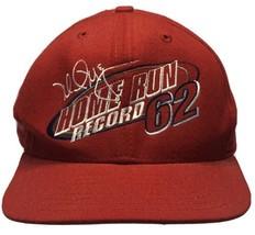 Mark McGwire New Era Home Run Record 62 Hat St. Louis Cardinals M/L Snap... - $14.69