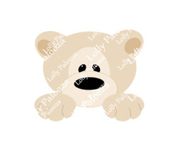 Brumley Bear DIGITAL File.  Instant Download.  No Physical Product Shipped.  PNG
