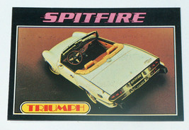1976 topps cars 1977 triumph spitfire #85 car card vg-excellent condition - $15.54