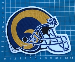 ST. LOUIS RAMS FOOTBALL NFL SUPERBOWL LOGO PATCH HELMET JERSEY SEW EMBRO... - $20.00