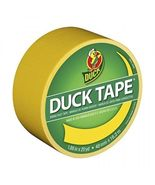 Duck Brand 1304966 Color Duct Tape, Yellow, 1.88 Inches x 20 Yards, Sing... - $8.99