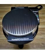 Chefs Choice Pizzelle Pro Express Bake 835 Waffle Cookie Maker/1000 Watt... - $34.99