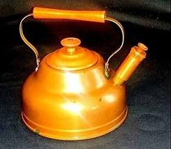 Copper Tea Pot  AB 552 Vintage