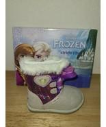 Disney Store Frozen Elsa Girls Boots Dress-Up Boots Zipper Size US 5 - $29.69