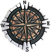 Ocean Calling Custom And Unique[ Mariner's Compass ] Embroidered Iron On... - $11.87