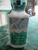 Bath & Body Works Snowy Morning Body Lotion 8 oz - $12.38