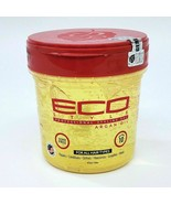 Eco Style Professional Styling Gel Argan Oil 16oz Alcohol Free All Hair ... - $17.81