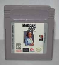 Nintendo GAME BOY - MADDEN 96 (Game Only) - $6.50