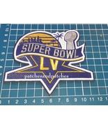 2021 SUPERBOWL LV 55 PATCH TAMPA BAY FLORIDA NFL FOOTBALL CHAMPIONSHIP GAME - $12.99
