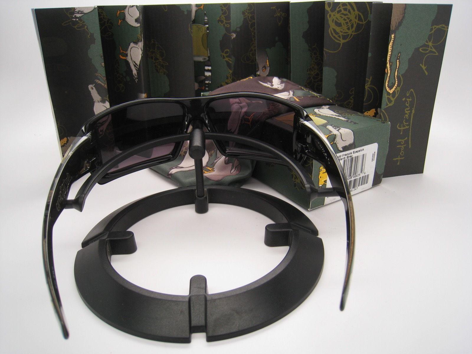 Rare! Hard to Find!  New Oakley Todd Francis Eyepatch w/Warm Grey 12-773